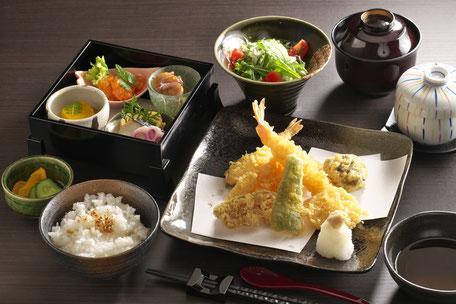 天ぷら盛りとおばんざい 1,800円+税