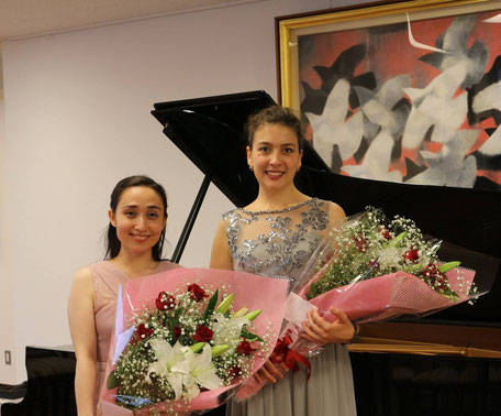Kimberley Boettger-Soller, Melissa Gore, Mozart Salon Akabane Tokyo