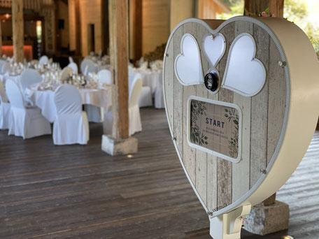 Fotobox Rheinfall Hochzeit