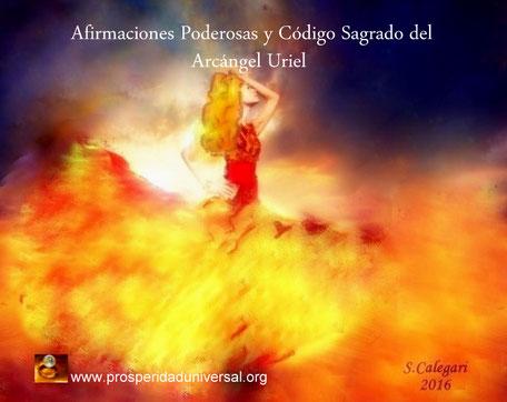 AFIRMACIONES PODEROSAS Y CÓDIGO SAGRADO DEL ARCÁNGEL URIEL - PROSPERIDAD UNIVERSAL - www.prosperidaduniversal.org