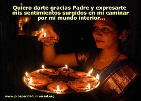 4to. Día   ORACIÓN DE GRATITUD DE PROSPERIDAD UNIVERSAL