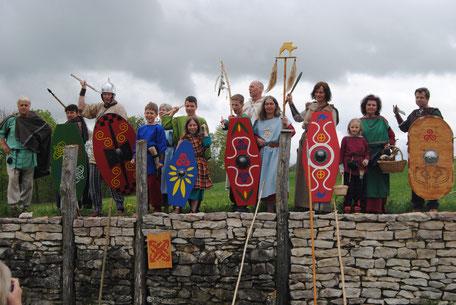 die Keltengruppe am Heidengraben