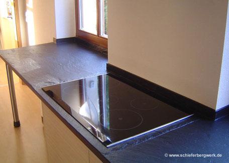 Küchenplatte und Fensterbank