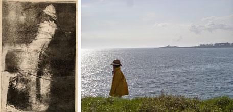 Claire Guyard-Aschehoug Rencontre gravure photographie composition mer sea