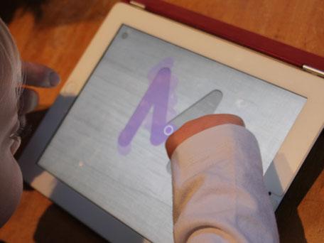 Sprachanbahnung mit iPad