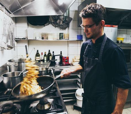 Im Restaurant Donaublick kochen wir stets mit sehr viel Liebe