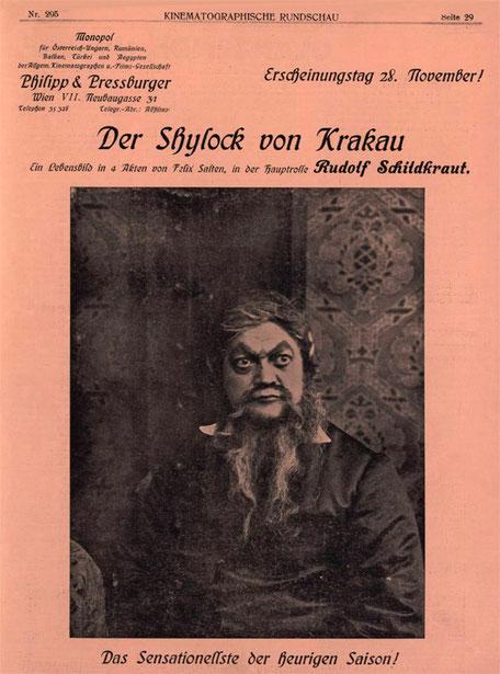 Kinematographische Rundschau Nr. 295,  ANNO - Historische österreichische Zeitungen und Zeitschriften