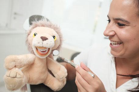kindgerechte Behandlung mit Leo-Löwe