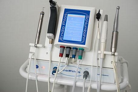 Schlumbohm Endo-Pilot zur Unterstützung bei Wurzelbehandlungen
