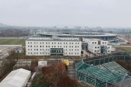 Bundesschülerheim und Schulgebäude