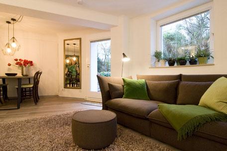 Heidelberg vollmöblierte Wohnung - Wohnzimmer