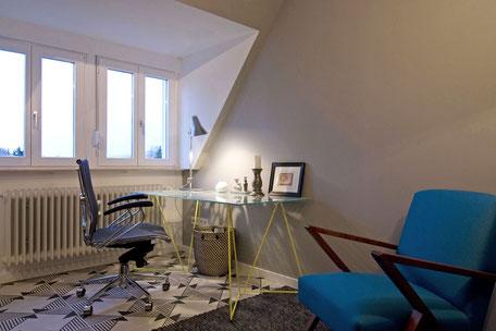 Heidelberg vollmöblierte Wohnung - Schreibtisch