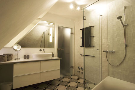 Heidelberg vollmöblierte Wohnung - Bad