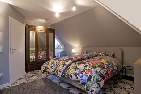 Heidelberg vollmöblierte Wohnung - Schlafzimmer