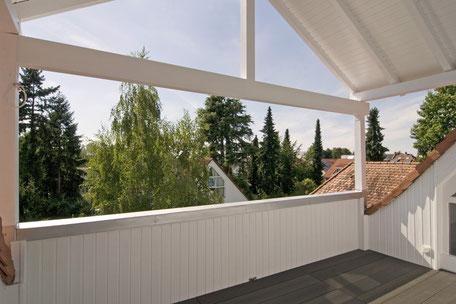 Heidelberg vollmöblierte Wohnung - Loggia Balkon