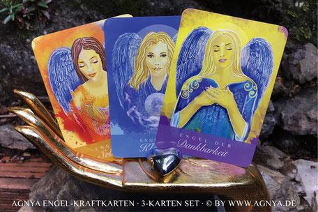 AGNYA HEALING ART Engel-Kraftkarten-Set
