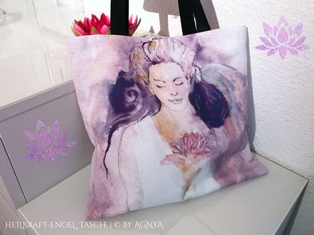 AGNYA HEALING ART Engel-Kunst - Heilkraft-Engel-Tasche