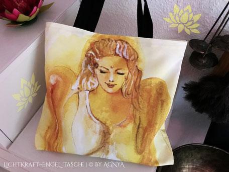 AGNYA HEALING ART Engel-Kunst - Lichtkraft-Engel-Tasche