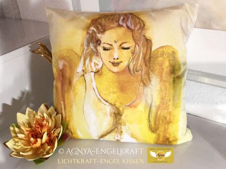 AGNYA HEALING ART Engel-Kunst - Lichtkraft-Engelkissen