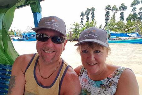 Mark & Sue in Vietnam