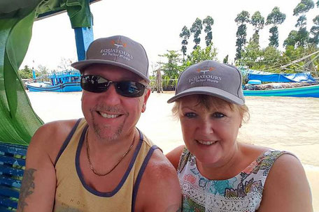 Mark & Sue in Vietnam