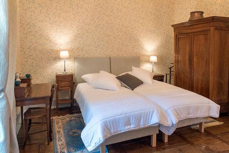 Domaine de Vielcastel, votre location saisonnière pour vos vacances en famille, chambre chemins de compostelle