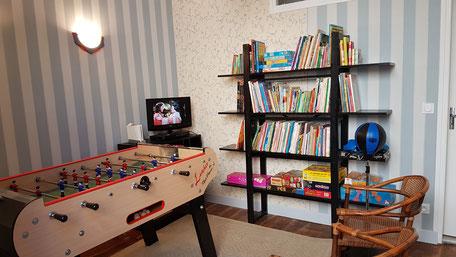 Location touristique en Périgord Quercy - salle de jeux