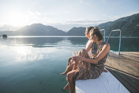Entspannung am Attersee