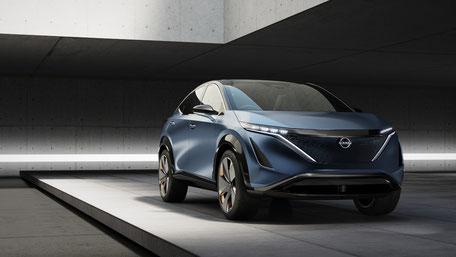 Concept Nissan ARIYA - OCTOBRE 2019
