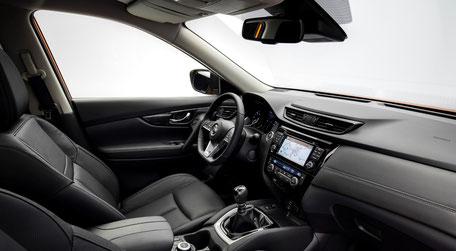 Nissan X-trail 2017 intérieur Tekna