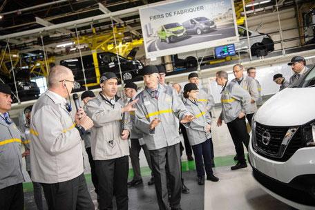 usine Renault Sandouville pour NV300