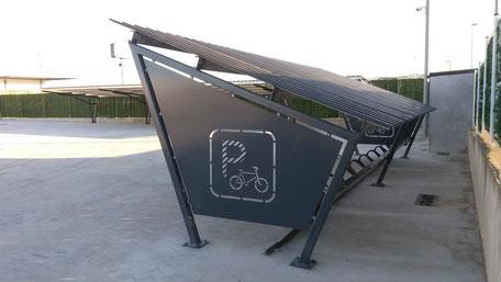 marquesina bicicletas
