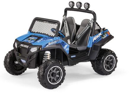 polaris ranger rzr 900 blu quad elektrofahrzeug spielfahrzeug
