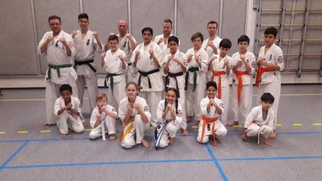 ZATERDAG Senioren en Jeugd Karate Bergen op Zoom