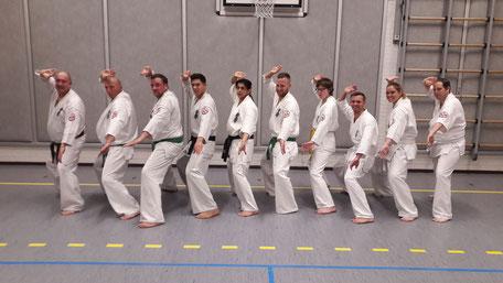 Donderdag Senioren Karate Bergen op Zoom