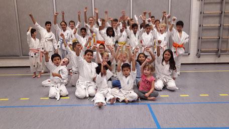 Donderdag Jeugd Karate Bergen op Zoom
