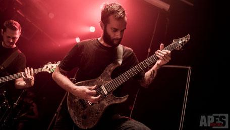 Jurgen For I Am King Vandermeij Magistra custom guitar