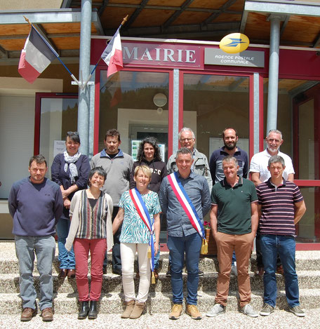 Cros de Géorand commune élus