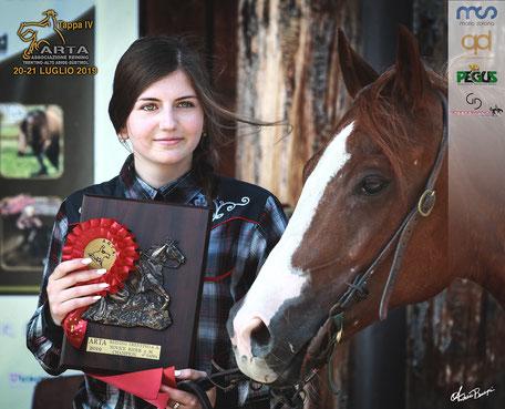 Bettoni Anna - Novice Rider 2 mani  e Green Level