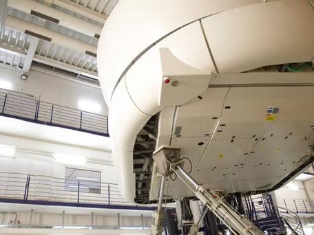 Flugsimulator der Lufthansa Aviation Training