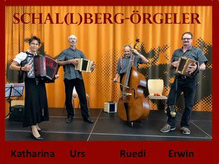 Schwyzerörgeli-Grossformation Basel