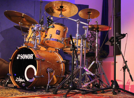 Sonor S-Class Pro Grained Maple Set 18 Bassdrum, 10, 12, 14 Tom