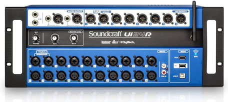 Soundcraft Ui24R, digitales Mischpult, Recording