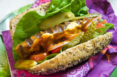 Vegane Hot Dogs Rezept