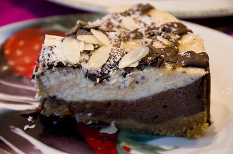 Schokoladen – Kokoskäsekuchen