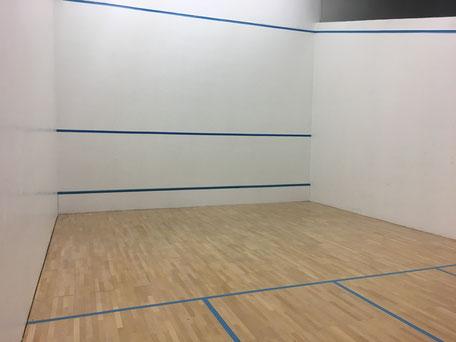Neuer Squashplatz