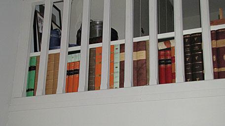 Leather fake books bookbinder conti borbone