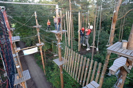 "Eventlocation ""Seeoase"" Rietberg, Eventlocation, Klettern Team-Aktionen, Ostwestfalen, teamevent.de, Teamevent, Firmenevent, Betriebsausflug, Schnurstracks, Teambuilding"