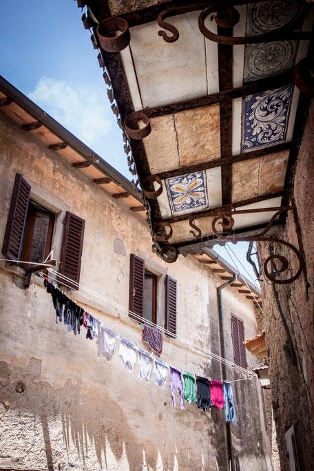 Capalbio: dettagli del borgo