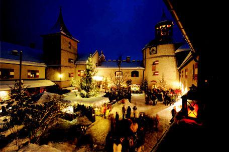 Adventmarkt auf der Burg Hohenwerfen